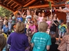 Wheatland Music Organization 2014 Festival Kids parade across mainstage