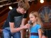 Wheatland Music Organization 2014 Festival Kids jokes on main stage