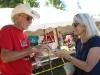 Wheatland Music Organization 2014 Festival Raffle ticket volunteers