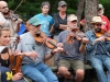 Wheatland Music Festival 2016 Fiddle workshop with Brittany Haas, Clayton Campbell