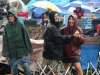 Wheatland Music Festival 2016 Main Stage area with rain