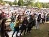 Wheatland Music Festival 2015 Audience for Sunday morning gospel performances