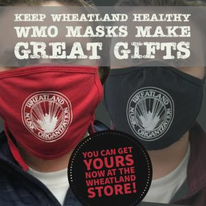 Wheatland Masks - Red/Black 2020