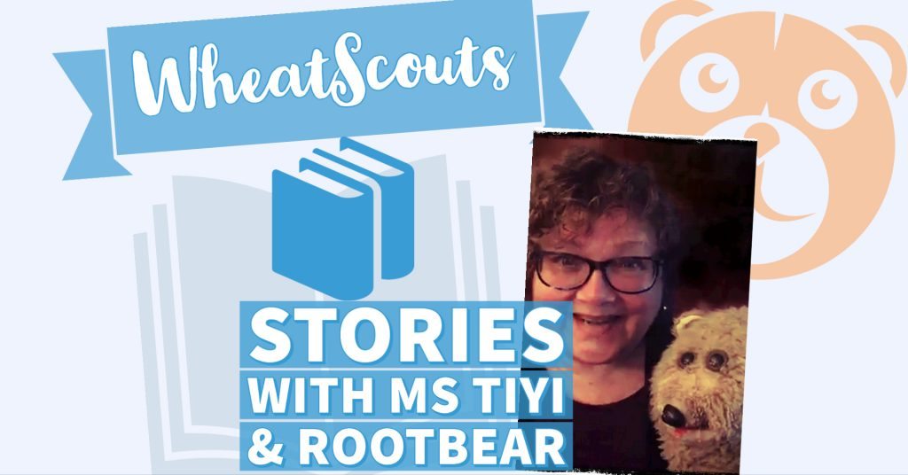 Storytelling with Ms Tiyi and Rootbear (banner)