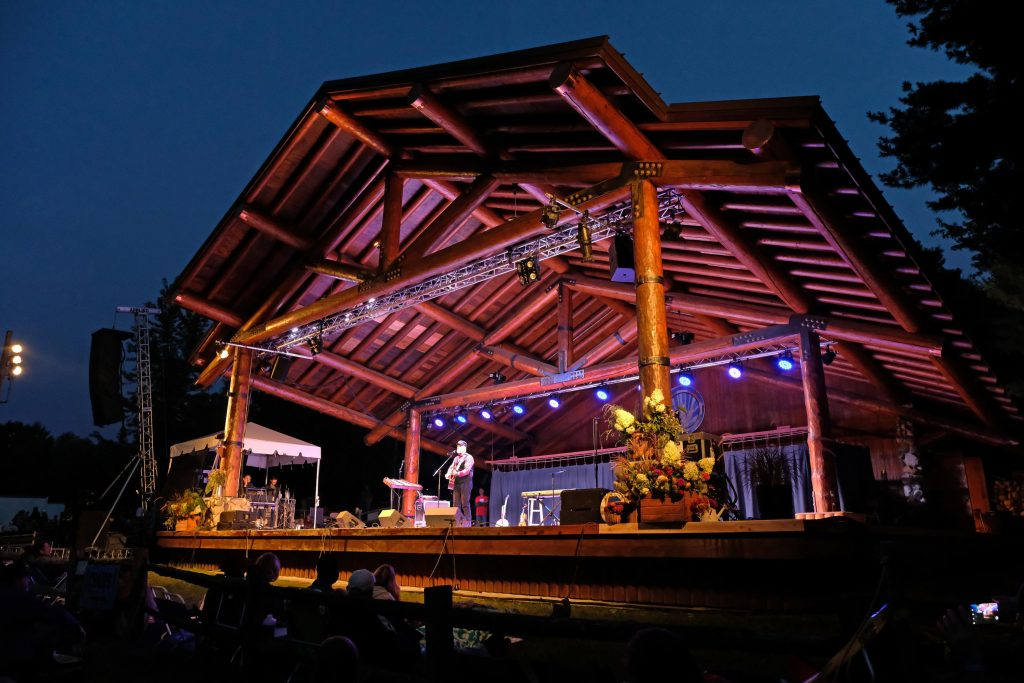 Main Stage at dusk