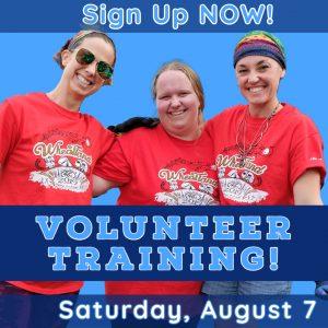 Volunteer Training Reminder