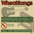 WheatSongs - Call to Participate 02