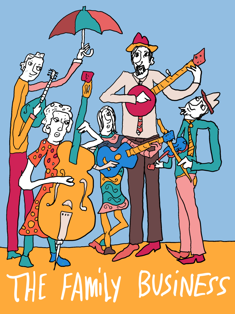 The Family Business (Rick, Sharon , Ben, Abby, Sam)